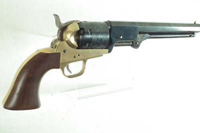 Lot 23 - Pietta Inert replica of a Colt Navy .36 calibre revolver