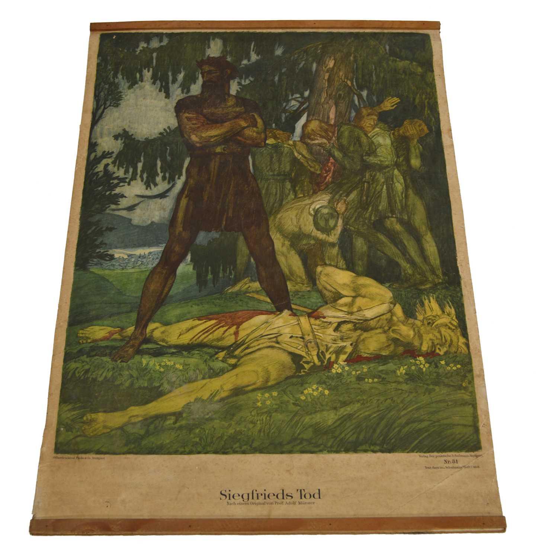 Lot Siegfrieds Tod Poster