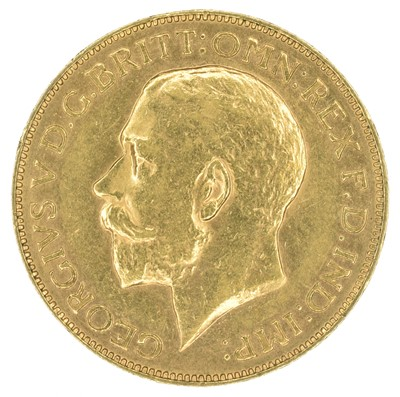 Lot 78 - George V, Sovereign, 1911 Perth Mint.