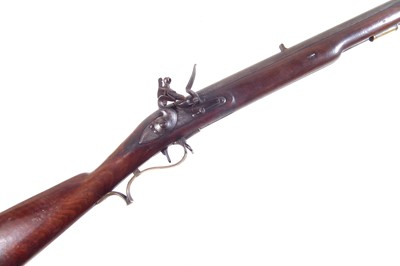 Lot W. Hatley smooth bored volunteer .650 Baker Rifle