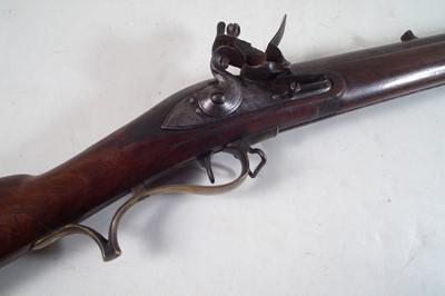 Lot W. Hatley smooth bored volunteer .650 Baker Rifle