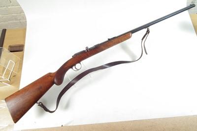 Lot Husqvarna Model 25 .32-20 / 7.65 bolt action rifle