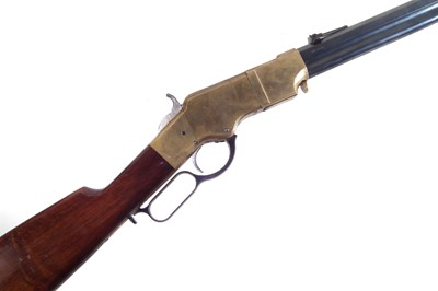 Lot Uberti Henry 1860 .45LC underlever rifle