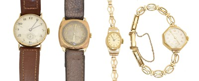Lot 71 - A selection of watches