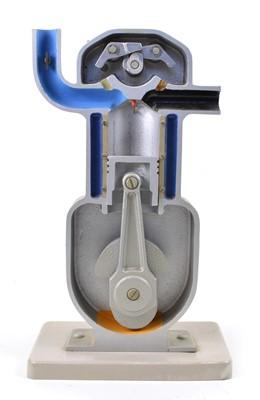 Lot 108 - Cutaway Single Cylinder Engine Model