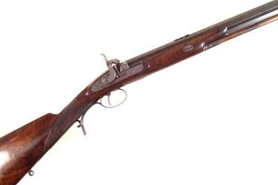 Lot 84 - Percussion sporting rifle by John Probin