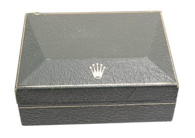 Lot 87 - A vintage Rolex box