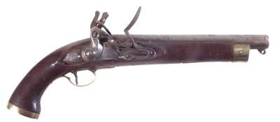 Lot 6 - Flintlock belt pistol