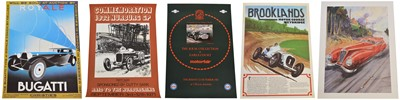 Lot 94 - A Selection of Five Automobilia Posters