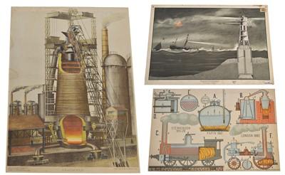 Lot 92 - Three Engineering Posters