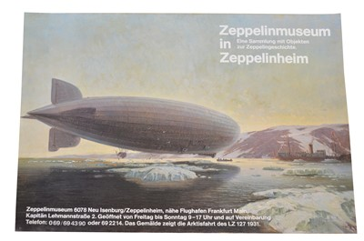 Lot 141 - Two Zeppelin Themed Posters