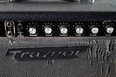 Lot 6 - Traynor guitar amplifier