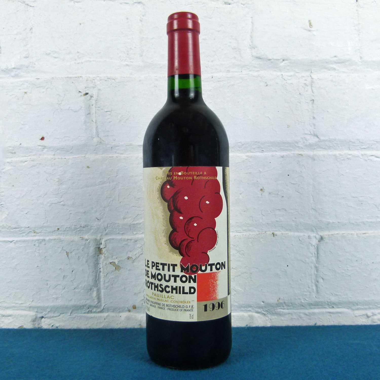 Lot 4 - 1 bottle 'Le Petit Mouton' de Mouton Rothschild