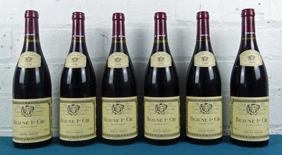Lot 7 - 6 bottles Beaune 1er Cru Louis Jadot 1998