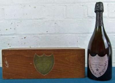 Lot 16 - 1 bottle Champagne 'Dom Perignon' Rose 1985