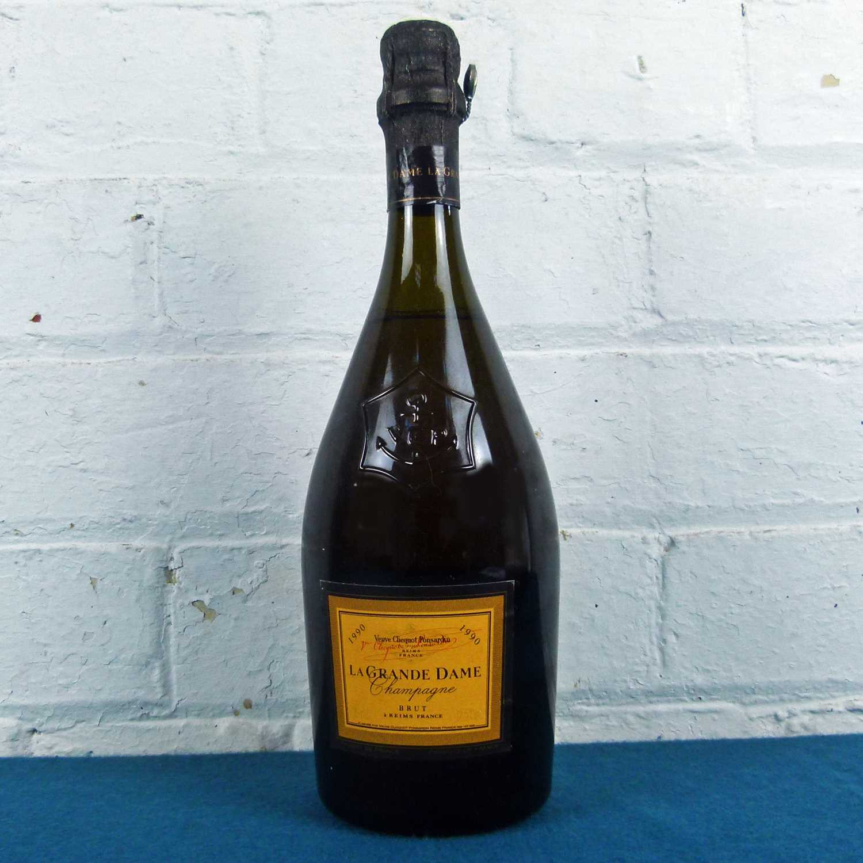 Lot 20 - 1 bottle Champagne Veuve Clicquot 'La Grande Dame' Brut 1990