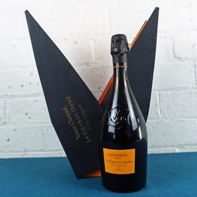 Lot 21 - 1 bottle Champagne Veuve Clicquot Grande Dame Brut 1995