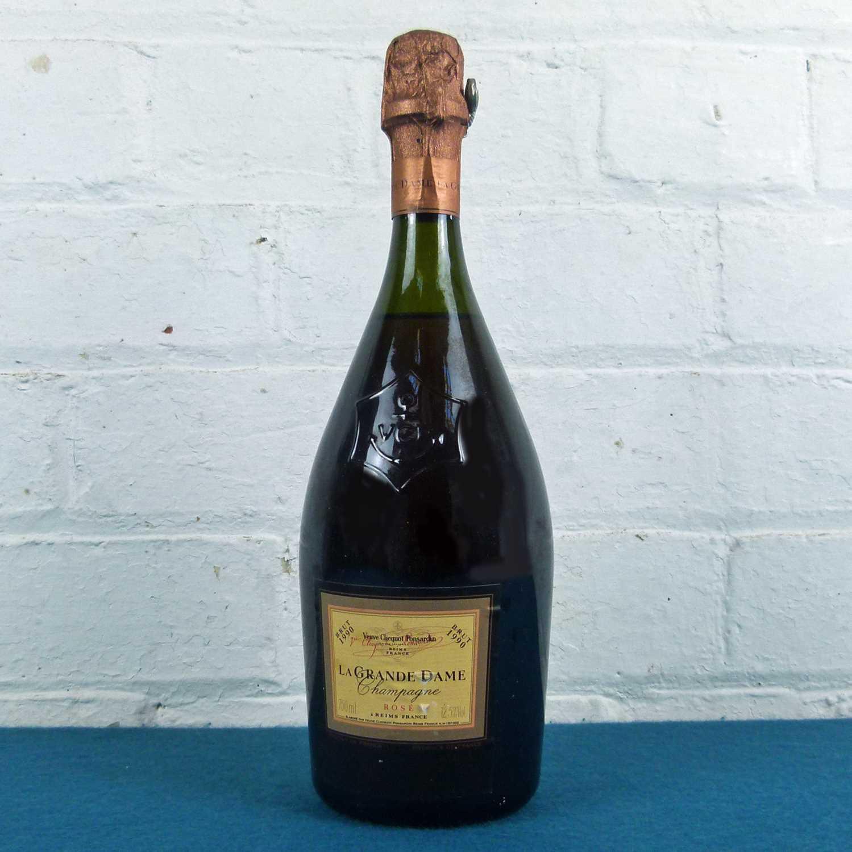 Lot 23 - 1 bottle Champagne Veuve Clicquot Grande Dame Brut Rose 1990