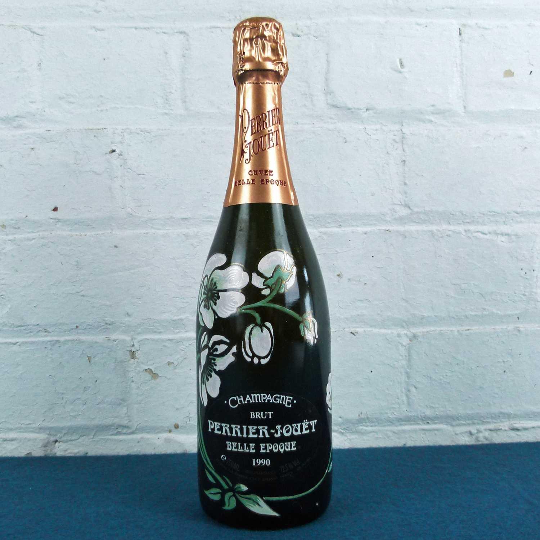 Lot 24 - 1 bottle Champagne Perrier Jouet 'Cuvee Belle Epoque' 1990