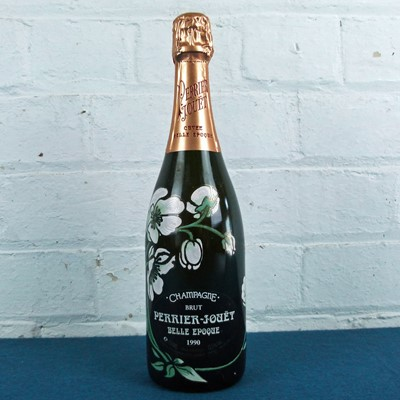 Lot 24 - 1 bottle Champagne Perrier Jouet 'Cuvee Belle Epoque' 1990