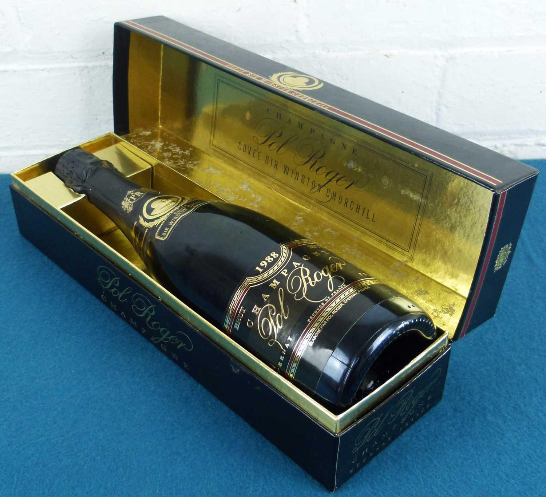 Lot 25 - 1 bottle Champagne Pol Roger 'Cuvee Winston Churchill' Brut 1988
