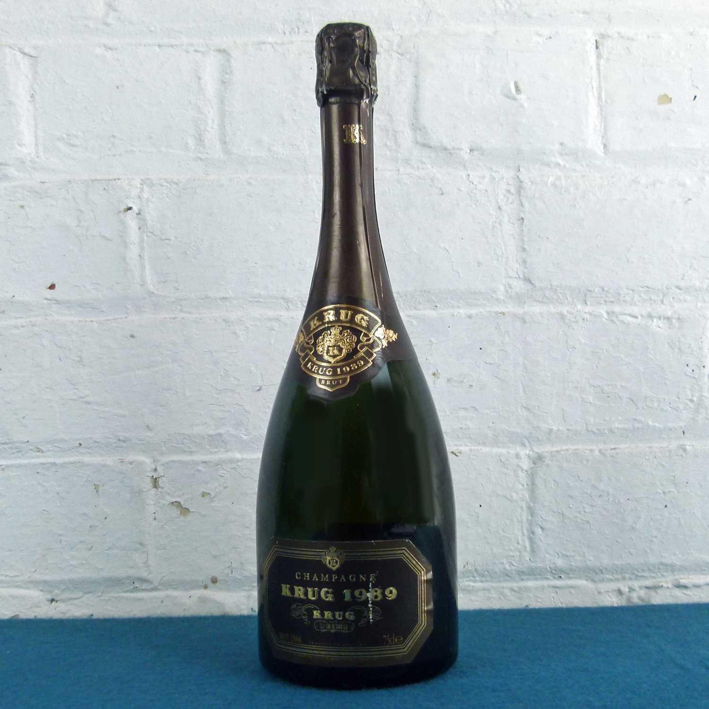 Lot 26 - 1 bottle Champagne Krug Vintage 1989