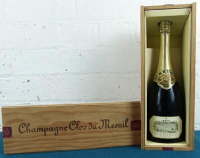 Lot 17 - 1 bottle Champagne Krug 'Clos du Mesnil' Vintage 1985
