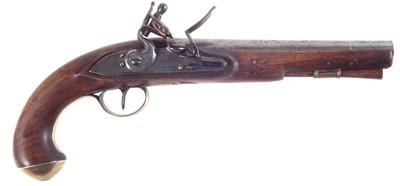 Lot 9 - Flintlock pistol by Archer
