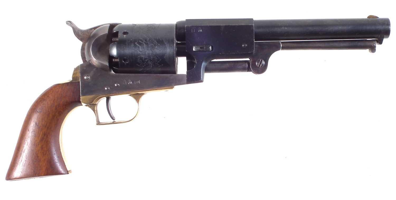 Lot 22 - San Marco .44 Colt Dragoon percussion revolver