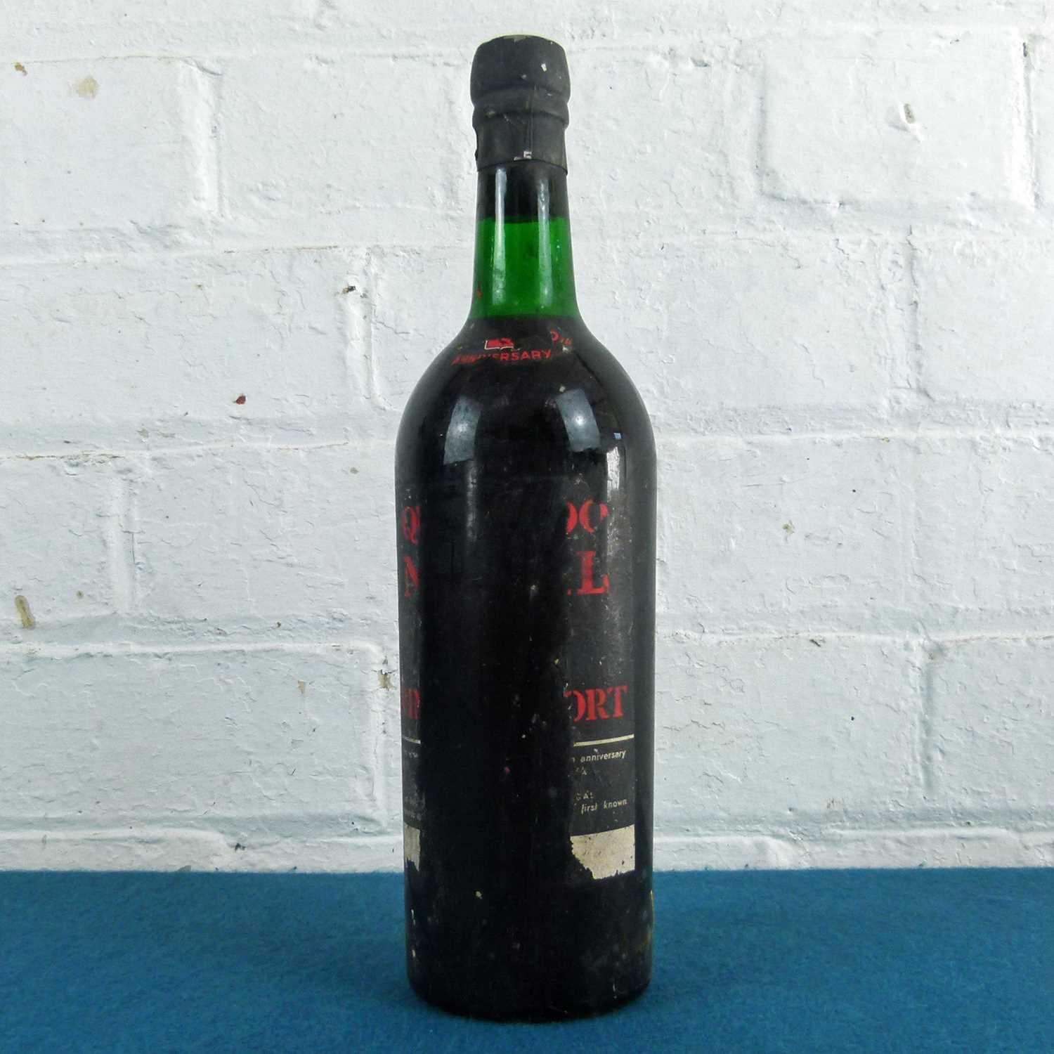 Lot 35 - 1 Bottle Quinta do Noval Vintage Port 1963 (b/n) 150th Anniversary Edition