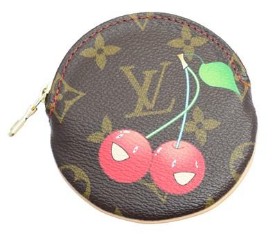 Lot 3 - A Louis Vuitton Limited Edition Monogram Cerises coin purse