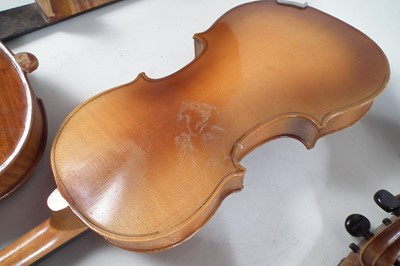 Lot 17 - Five Violins