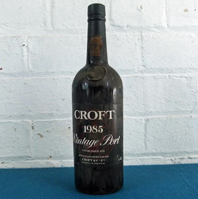 Lot 30 - 1 Bottle Croft Vintage Port 1985 (b/n)