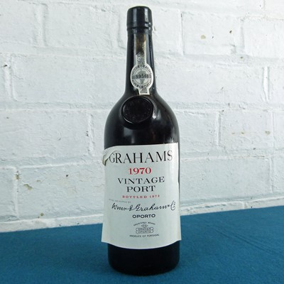 Lot 32 - 1 Bottle Graham's Vintage Port 1970 (b/n)