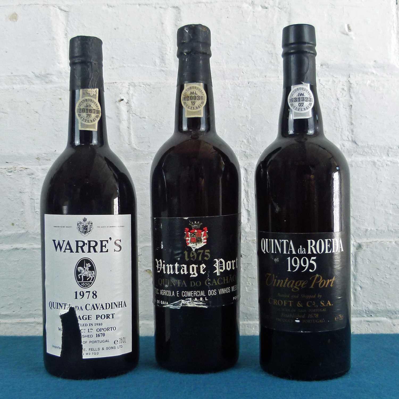 Lot 37 - 3 Bottles Mixed Lot Fine Vintage Port