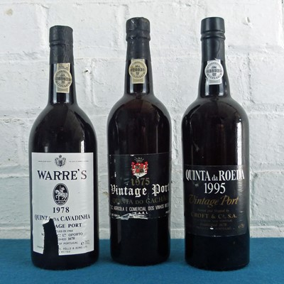 Lot 37 - 3 Bottles Mixed Lot Fine Vintage Port