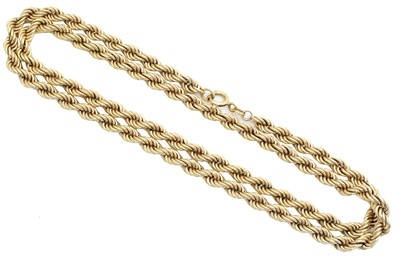 Lot 67 - A chain necklace