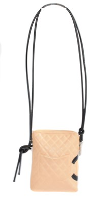 Lot 23 - A Chanel Cambon Zip Shoulder bag