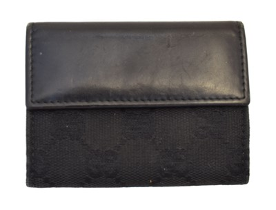 Lot 126 - A Gucci Flap Coin Case Wallet