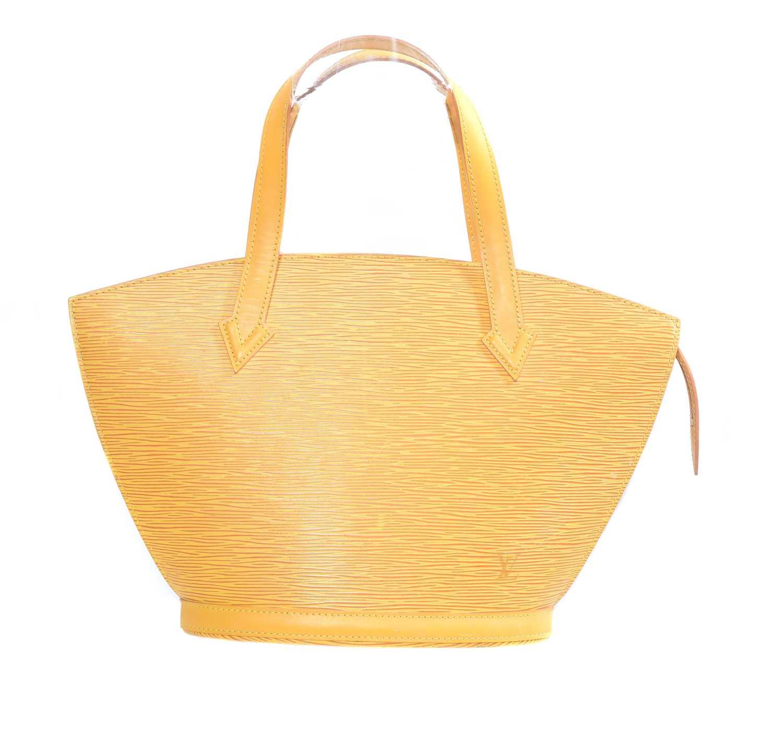 Lot 44 - A Louis Vuitton Epi St-Jacques PM shoulder bag