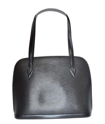 Lot 129 - A Louis Vuitton Lussac Shoulder Bag