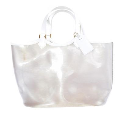 Lot 60 - A Louis Vuitton Limited Edition Baia Beach Tote Bag