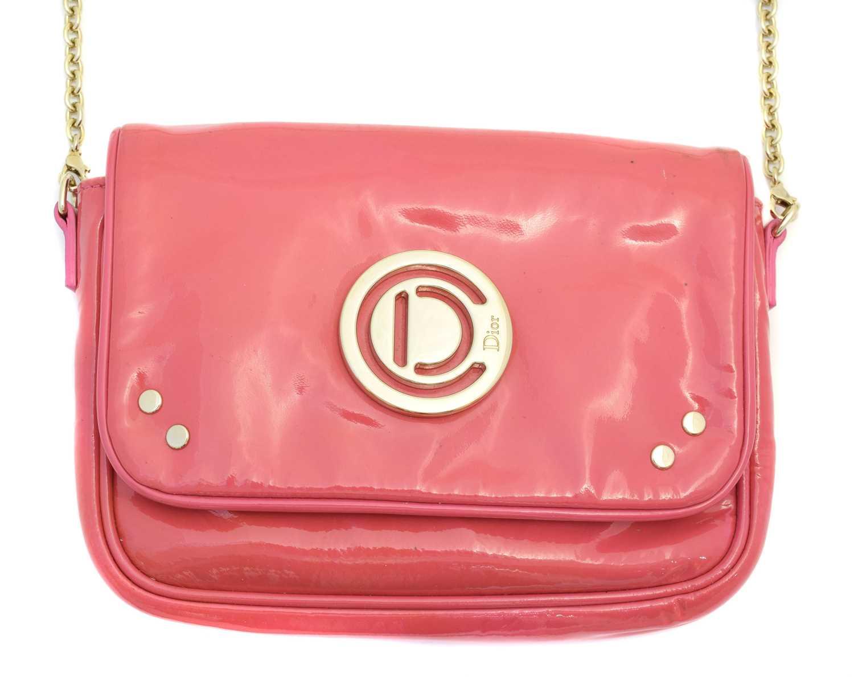 Lot 8 - A Christian Dior Mini Flap Crossbody Bag