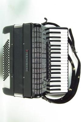 Lot 33 - Menghini piano accordion