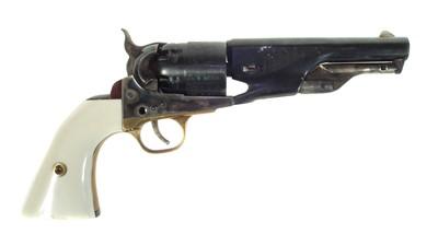 Lot 92 - Deactivated Italian Colt pocket .44 percussion revolver