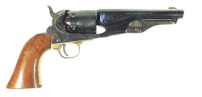 Lot 91 - Deactivated Pietta Colt 1861 Army / Sheriff .44 percussion revolver