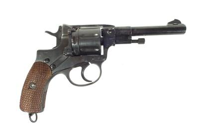Lot 99 - Deactivated Russian Nagant M1895 7.62mm revolver