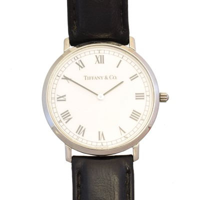 Lot 148 - A stainless steel Tiffany & Co. quartz watch