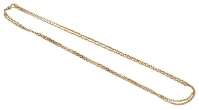 Lot 69 - A chain necklace