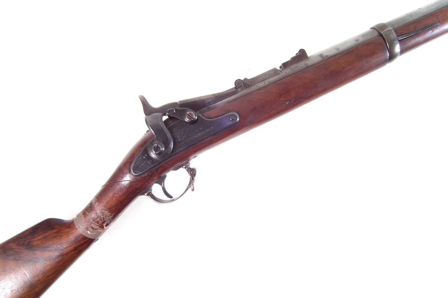 Lot 36 - Trapdoor Springfield .50-70 rifle